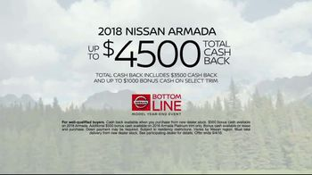 Nissan Bottom Line Model Year-End Event TV Spot, 'Big Clearance Savings' [T2] - Thumbnail 9