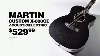 Guitar Center Labor Day Sale TV Spot, 'Acoustic/Electric Guitar' - 228 commercial airings