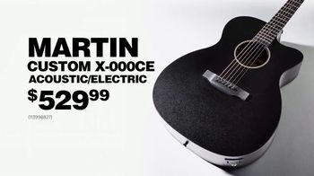 Guitar Center Labor Day Sale TV Spot, 'Acoustic/Electric Guitar' - Thumbnail 7