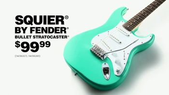 Guitar Center Labor Day Sale TV Spot, 'Squier' Featuring The White Buffalo