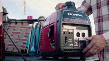 Honda Generators EU2200i TV Spot, 'The Perfect Generator for Tailgating'