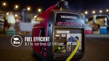 Honda Generators EU2200i TV Spot, 'The Perfect Generator for Tailgating' - Thumbnail 8