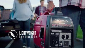 Honda Generators EU2200i TV Spot, 'The Perfect Generator for Tailgating' - Thumbnail 2