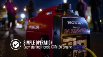 Honda Generators EU2200i TV Spot, 'The Perfect Generator for Tailgating' - Thumbnail 6