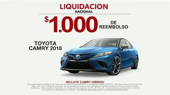 Toyota Liquidación Nacional TV Spot, 'New Car Registration' [Spanish] [T2] - Thumbnail 7