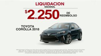 Toyota Liquidación Nacional TV Spot, 'New Car Registration' [Spanish] [T2] - Thumbnail 8
