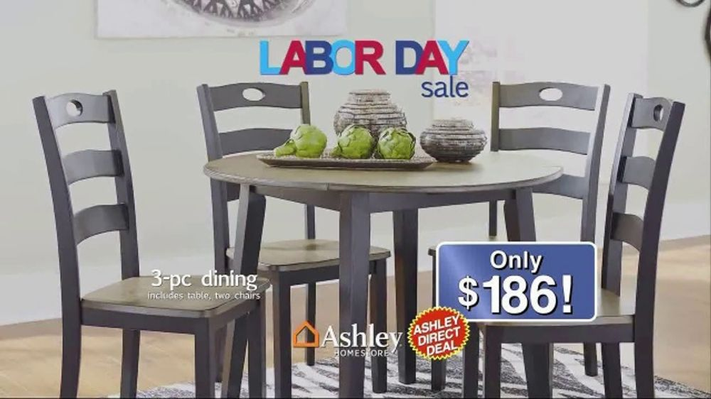 Ashley HomeStore Labor Day Sale TV Commercial Direct Deals