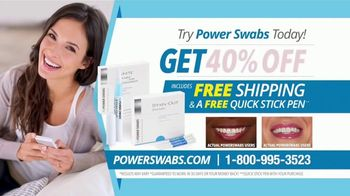 Power Swabs TV Spot, 'Clinically Studied' - Thumbnail 10