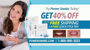 Power Swabs TV Spot, 'Clinically Studied' - Thumbnail 9