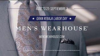 Men's Wearhouse Gran Rebaja Labor Day TV Spot, 'Refrescar' [Spanish] - Thumbnail 6