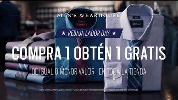 Men's Wearhouse Gran Rebaja Labor Day TV Spot, 'Refrescar' [Spanish] - Thumbnail 5