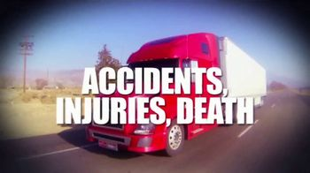 Fieger Law TV Spot, 'Truck Accident Cases'