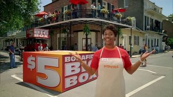 Popeyes $5 Bonafide Big Box TV Spot, 'This Is a Meal' - Thumbnail 3