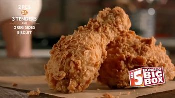 Popeyes $5 Bonafide Big Box TV Spot, 'This Is a Meal' - Thumbnail 4