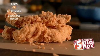Popeyes $5 Bonafide Big Box TV Spot, 'This Is a Meal' - Thumbnail 5