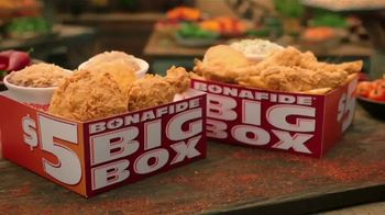 Popeyes $5 Bonafide Big Box TV Spot, 'This Is a Meal' - Thumbnail 6