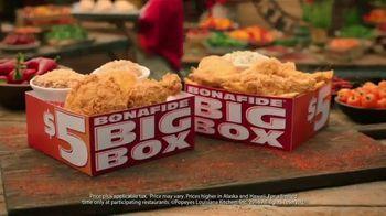 Popeyes $5 Bonafide Big Box TV Spot, 'This Is a Meal' - Thumbnail 9