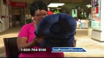 Total Posture Pillow TV Spot, 'Relieve Pressure' - Thumbnail 5