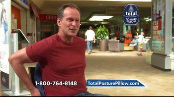 Total Posture Pillow TV Spot, 'Relieve Pressure' - Thumbnail 6