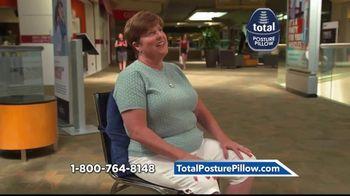 Total Posture Pillow TV Spot, 'Relieve Pressure' - Thumbnail 7