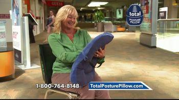 Total Posture Pillow TV Spot, 'Relieve Pressure' - Thumbnail 8