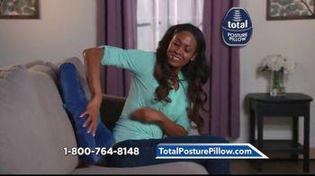 Total Posture Pillow TV Spot, 'Relieve Pressure' - Thumbnail 9