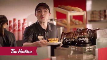 Tim Hortons Maple Waffle Breakfast Sandwich TV Spot, 'Wake Up Your Morning'