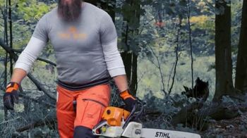 STIHL TV Spot, 'Real People: Justin Miller' - Thumbnail 9