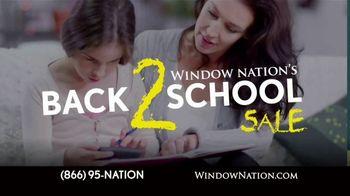 Window Nation Back 2 School Sale TV Spot, 'The Best Time to Buy'