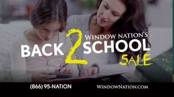 Window Nation Back 2 School Sale TV Spot, 'The Best Time to Buy' - Thumbnail 1