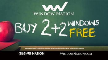 Window Nation Back 2 School Sale TV Spot, 'The Best Time to Buy' - Thumbnail 2