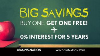 Window Nation Back 2 School Sale TV Spot, 'The Best Time to Buy' - Thumbnail 5