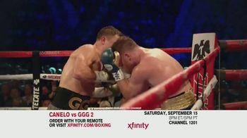 XFINITY TV Spot, 'Boxing: Canelo vs. GGG 2'