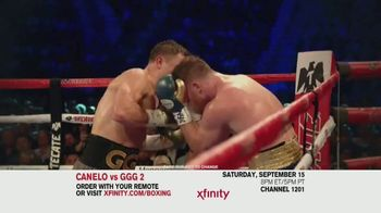 XFINITY TV Spot, 'Boxing: Canelo vs. GGG 2' - 196 commercial airings
