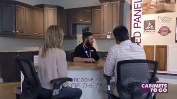 Cabinets To Go End of Summer Sale TV Spot, 'Kitchen Experts' - Thumbnail 3