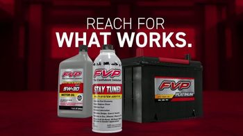 FVP Motor Oil TV Spot, 'What Works'