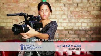 American InterContinental University TV Spot, 'Media Production' - Thumbnail 1