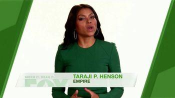 FOX TV Spot, 'Green It. Mean It.: Paperless Billing' Feat. Taraji P. Henson - Thumbnail 2