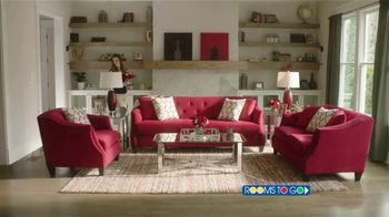 Rooms to Go Labor Day Sale TV Spot, 'Go Red, White and Blue'