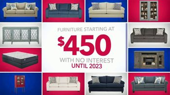 Rooms to Go Labor Day Sale TV Spot, 'Go Red, White and Blue' - Thumbnail 3