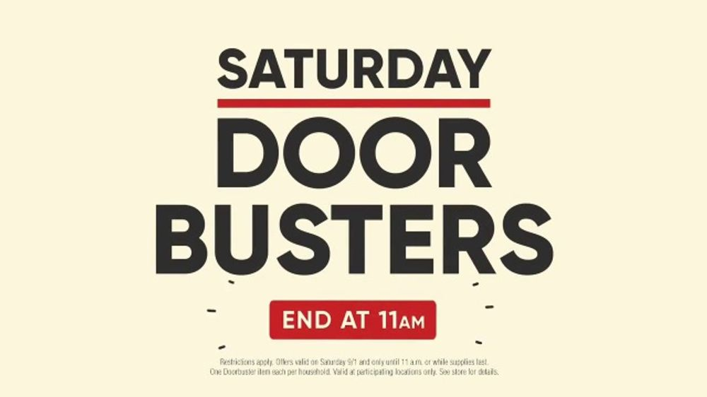 Mattress Firm Labor Day Sale Tv Commercial Saturday Door Busters