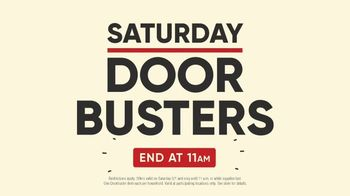 Mattress Firm Labor Day Sale TV Spot, 'Saturday Door Busters'