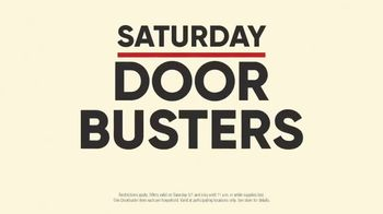 Mattress Firm Labor Day Sale TV Spot, 'Saturday Door Busters' - Thumbnail 9