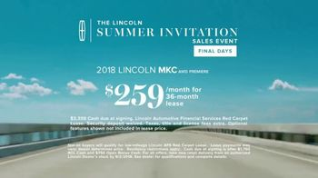 Lincoln Summer Invitation Sales Event TV Spot, 'New Mix' [T2] - Thumbnail 7