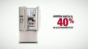 The Home Depot Labor Day Savings TV Spot, 'Más: refrigerador' [Spanish] - Thumbnail 7