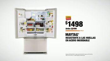 The Home Depot Labor Day Savings TV Spot, 'Más: refrigerador' [Spanish] - Thumbnail 8