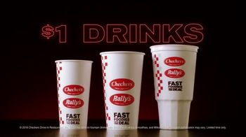 Checkers & Rally's $1 Drinks TV Spot, 'Them vs. Us' - Thumbnail 2