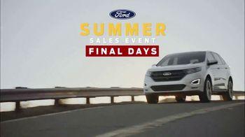 Ford Summer Sales Event TV Spot, 'Your Time to Save Is Running Out' [T2] - Thumbnail 9