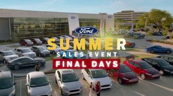 Ford Summer Sales Event TV Spot, 'Your Time to Save Is Running Out' [T2] - Thumbnail 1
