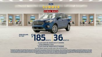 Ford Summer Sales Event TV Spot, 'Your Time to Save Is Running Out' [T2] - Thumbnail 6